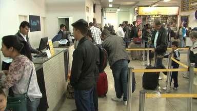 Mau tempo provoca cancelamento de voos no aeroporto de Vitória da Conquista - Confira também a previsão do tempo.