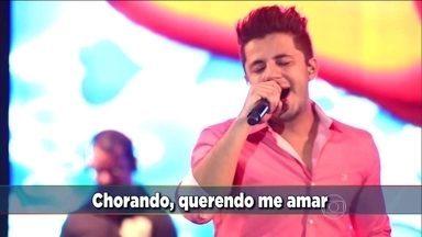 Domingão faz homenagem a Cristiano Araújo - Assista o clipe do cantor