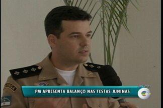 Polícia Militar faz balanço dos dias de festa de São João em Petrolina - A PM ajudou a manter a segurança no Pátio de Eventos.