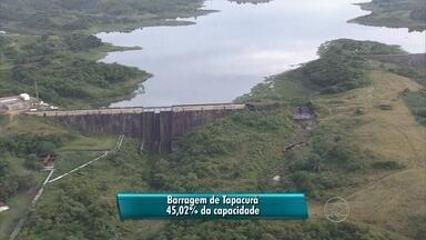 Chuvas dos últimos dias contribuem para aumentar o nível das barragens no Grande Recife - Situação mais preocupante é a da Barragem de Botafogo.