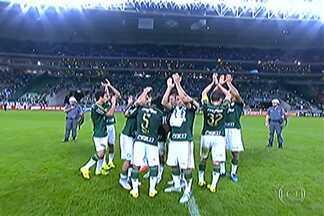 Palmeiras vence o São Paulo pelo Campeonato Brasileiro - O time alviverde fez quatro gols no tricolor paulista.