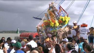 Devotos participam de procissões de São Pedro em São Luís - Devotos participam de procissões de São Pedro em São Luís