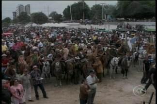 Vaqueiros participaram ontem da Missa do Vaqueiro - A missa é realizada há mais de 70 anos em Petrolina