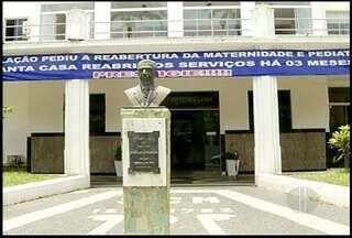 Santa Casa de Misericórdia, em Campos, suspende internações de pacientes do SUS - Suspenção foi pela falta de repasse de verbas.