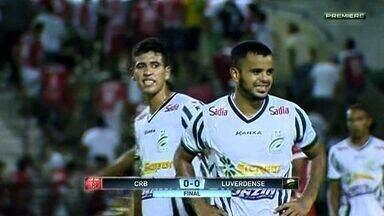 Luverdense e CRB-AL empatam pela Série B do Brasileiro - Partida foi disputada no estádio Rei Pelé
