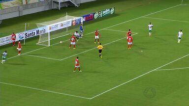 Cuiabá perde para o América-RN por 2 a 1 - Dourado segue em crise na Série C do Brasileiro