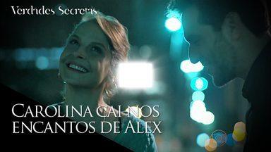 Alex marca um encontro com Carolina e pede segredo em relação aos dois - Fanny conversa com Anthony sobre papo que ele teve com Alex a respeito de Giovanna