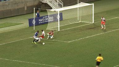 Veja os gols de Operário de VG 2 x 3 Aparecidense-GO pela Série D - Time goiano consegue a virada na Arena Pantanal