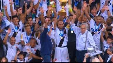 Campeonatos estaduais não vêm se mostrando parâmetro para o resto da temporada - Dos quatro times na zona de rebaixamento, três foram campeões estaduais: Santos, Vasco e Joinville.