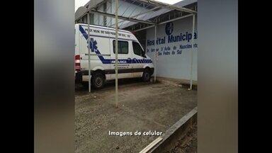 Hospitais da região são afetados pela crise na saúde - E São Pedro, outra situação de crise surgiu