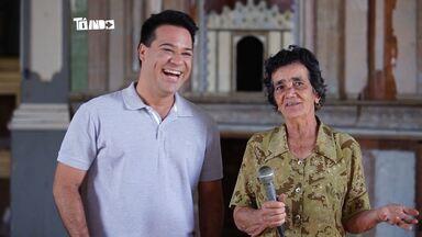 Dona Vaíca: conheça a informante oficial de Areado - Ela usa o Alto-falante da igreja da cidade para passar os comunicados para a população