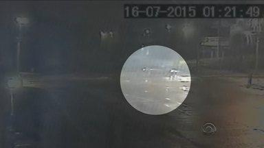 Polícia analisa câmera de segurança próxima à Arena do JEC para investigar sumiço da taça - Polícia analisa câmera de segurança próxima à Arena do JEC para investigar sumiço da taça
