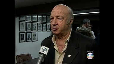Jornalista e radialista Dirceu Pereira morre em hospital de Nova Lima - Pereira também foi apresentador de TV, deputado estadual e prefeito.