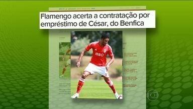 Flamengo acerta contratação de zagueiro que vem de Portugal - César se destacou na Ponte Preta e estava no Benfica.