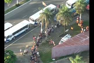 Saída de Belém é intensa no terceiro fim de semana de julho - Frota de ônibus para Mosqueiro recebe reforço desde quinta-feira, 16.