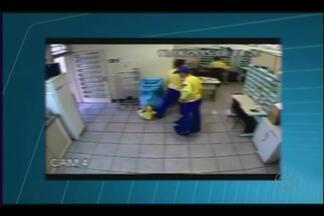 Vídeos mostram ação de criminosos em assaltos em agências dos Correios em MG - Imagens de câmeras de segurança das agências foram fornecidas pela Polícia Federal.