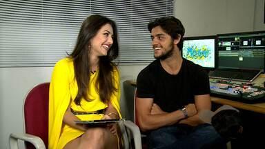 'Eu te amo' de Cobrade é cena preferida de Anaju Dorigon e Felipe Simas - Atores comentam cenas que mais gostaram de fazer