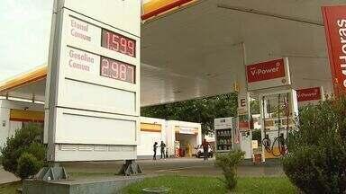 Preço da gasolina diminui devido à baixa procura em Ribeirão Preto - Três em cada quatro motoristas estavam escolhendo o etanol.