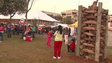 Arraiá da Estação tem atrações típicas de festa caipira neste fim de semana - Festa é realizada na Estação Saudade, em Ponta Grossa, até as 20h de domingo