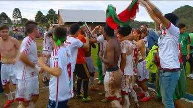 Marau vence Guarany e é campeão da Terceirona do Gauchão - Com a conquista, clube irá disputar a Divisão de Acesso em 2016.