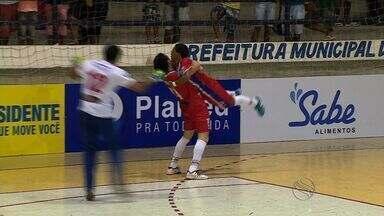 Mimi resolve para Canindé, que vence Ribeirópolis na Copa TV Sergipe de Futsal - Mimi resolve para Canindé, que vence Ribeirópolis na Copa TV Sergipe de Futsal