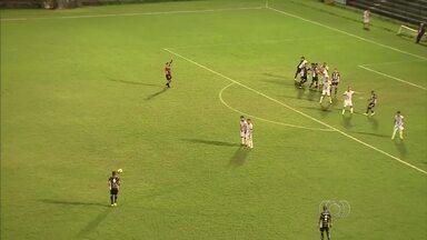 Goianésia perde para o Central com gol de falta - Azulão leva gol no fim e perde em sua estreia na Série D.
