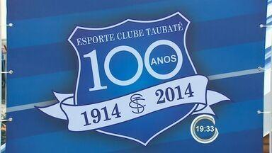 Taubaté tem exposição sobre o centenário do Burro da Central - Exposição mostra a trajetória do time