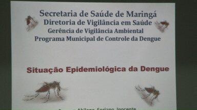 Maringá está perto de ter uma epidemia de dengue em pleno inverno - O número de casos confirmados preocupa