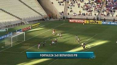 Fortaleza vence; Ceará e Icasa perdem na rodada do fim de semana - Veja os gols da rodada.