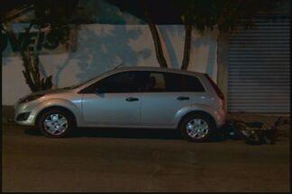 Motorista bêbado derruba moto estacionada em Divinópolis - Motociclista teve surpresa ao encontrar veículo caído. Polícia Militar foi chamada