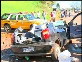 Três pessoas morrem em acidentes de trânsito na região - Os acidentes aconteceram no domingo (19).