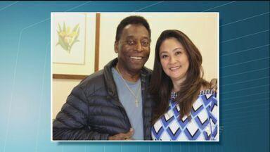 Rei Pelé recebe alta em São Paulo - Rei do Futebol realizou uma cirurgia na coluna na semana passada.