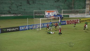 Brasil de Pelotas empata com Guarani pela Série C - Jogo aconteceu em Campinas.