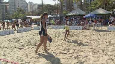 1ª edição do Torneio Beach Tennis A Tribuna é realizada em Santos - Competição, que agitou o público que assistiu aos jogos na areia da praia do Gonzaga, terminou no último fim de semana.