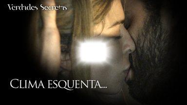 Roy beija Larissa e faz promessa - Depois de frustração com Sam, loira se deixa envolver pelo romantismo do rapaz