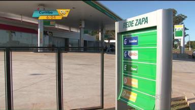 Ladrões roubam bombas de posto de combustível em Campo Mourão - Roubos e assaltos a postos de combustíveis estão cada vez mais frequentes. Prejuízo com os três equipamentos levados passa de R$ 75 mil.