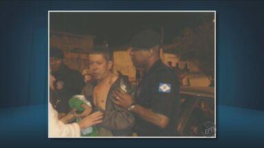 Homem é preso após atropelar mulher em Limeira, SP - Segundo a polícia, ele estava bêbado. A Guarda afirmou ainda que os vidros do carro foram quebrados por pessoas que tentaram agredir o motorista após o atropelamento.