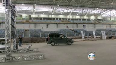 Prefeitura do Rio apresenta projeto do legado das Olimpíadas - No Parque em Jacarepaguá, a Arena 3 vai se transformar numa escola voltada para o esporte, a Arena 2 vai ser um centro de treinamento de alto rendimento e a Arena 1 vão acontecer eventos esportivos e de entretenimento.