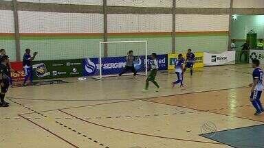 Mascote de Boquim volta, mas seleção perde Itaporanga na Copa TV Sergipe de Futsal - Mascote de Boquim volta, mas seleção perde Itaporanga na Copa TV Sergipe de Futsal