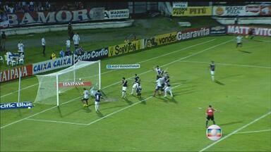 Com uniforme azul, Santa Cruz joga bem e vence o Bahia no Arruda - Tricolor fez homenagem ao time campeão estadual 93, somou três pontos e se aproxima do G-4