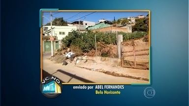 Morador cobra manutenção de terreno desapropriado pela prefeitura em BH - Segundo ele, uma obra para o local já foi aprovada pelo orçamento participativo há cerca de dois anos e, até o momento, nada foi feito.