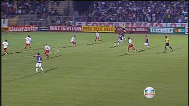 Náutico joga mal e perde para o Paraná por 2 a 0 - Timbu entrou desligado em campo e viu adversário construir o placar com apenas 18 minutos de partida