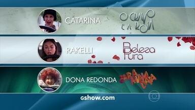 Vote e participe! Escolha que personagem deve perder a habilitação - Quem é a pior motorista: Catarina, Rakelli ou Dona Redonda?