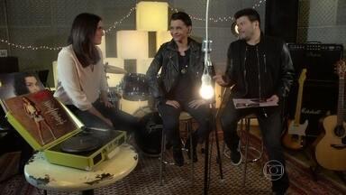 Marina e Malu Mader relembram Top Model no quadro Vídeo Som - As duas relembraram sucessos musicais da novela em conversa com Paulo Ricardo