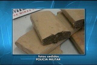 Homem é preso com quatro quilos de maconha em Porteirinha, MG - Suspeito foi abordado no Bairro São Sebastião. Em Januária, um menor também foi detido por tráfico de drogas.