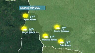 Semana segue ensolarada na região - Confira a previsão do tempo