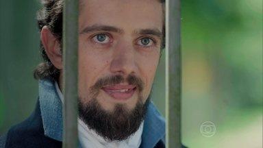 Além do Tempo - capítulo de quinta-feira, 30/07/2015, na íntegra - Felipe revela a Lívia que terminou seu noivado com Melissa