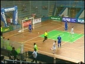 Atlântico vence Assaf fora de casa - Foi a terceira vitória seguida do galo no Gauchão de futsal.