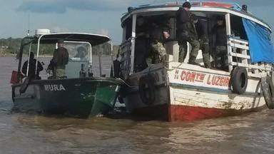 Operação apreende combustível em Tabatinga, no AM - Ação foi realizada pelas Polícias Civil, Militar e Federal