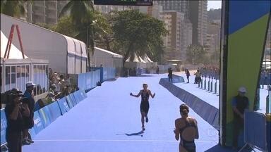 Americana Gwen Jorgensen vence Desafio Internacional de Triatlo, no Rio de Janeiro - Competição faz parte de evento-teste para Rio 2016